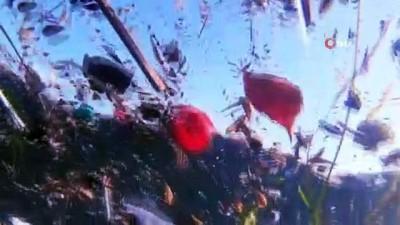 deniz trafigi -  Korona virüs günlerinde İstanbul Boğazı maske ve eldiven doldu