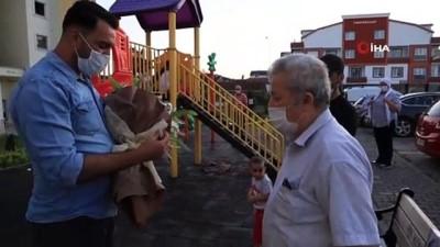engelli kiz -  Babalar Gününde eşinden yadigar saatine kavuştu