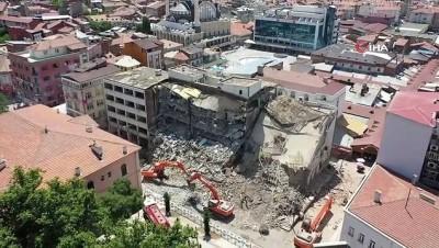hukumet konagi -  Elazığ'da Kent Meydanı için yıkım çalışması başlatıldı