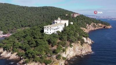 tam gun -  Heybeli Ada'daki sanatoryum atıl kaldı
