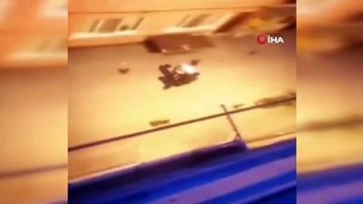 Samsun'da dehşete düşüren anlar: Dakikalarca sopalarla dövdüler