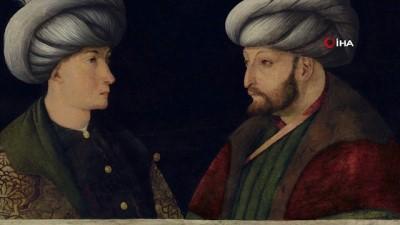 """portre -  İBB, National Gallery'nin """"Daimi sergilenen sanat eserleri"""" arasında yer alan Fatih Sultan Mehmet'in orijinal portresini 6,5 Milyon TL'ye satın aldı."""