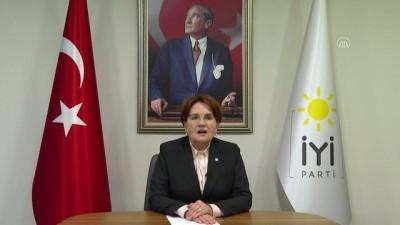 İYİ Parti Genel Başkanı Akşener'den YKS tarihi açıklaması - ANKARA
