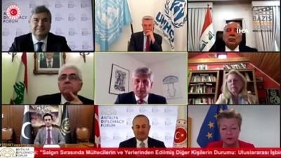 """Dışişleri Bakanı Çavuşoğlu: """"Türkiye 125 ülkenin yardım talebini karşıladı"""""""