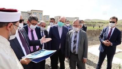 Diyanet İşleri Başkanı Erbaş, AYBÜ'de yapılacak cami alanında incelemelerde bulundu - ANKARA