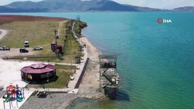 """engin alan -  Flamingo cenneti Erçek Gölü """"kesin korunacak hassas alan"""" ilan edildi"""