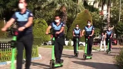 Mersin'de 'scooter'lı zabıta dönemi başladı