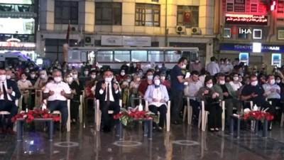 Kilis'te 15 Temmuz Milli Birlik ve Dayanışma Günü'nde anma etkinliği