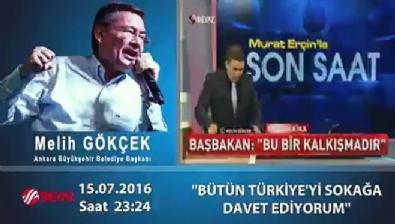 Türkiye'de halkı ilk sokağa davet eden kişi Melih Gökçek'ti...
