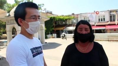 Ezan sesinden etkilenen turist konuştu