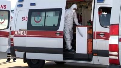 ambulans ucak -  Kırgızistan'daki Kovid-19 hastası Türk vatandaşları ambulans uçakla yurda getirildi