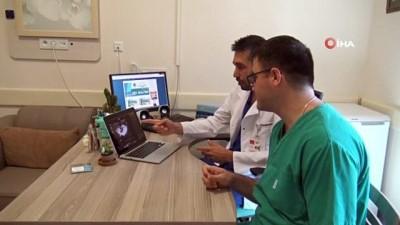 ALKÜ'de  ilk kez bağırsak rezeksiyonu ameliyatı gerçekleştirildi