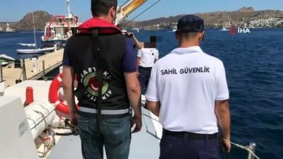 Bodrum'da 121 tonluk akaryakıt kaçakçılığı ortaya çıkarıldı