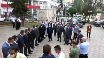hukumet konagi -  Vali Dr. Zülkif Dağlı Bafra'yı ziyaret etti