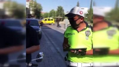arac plakasi -  Plaka gizlemek için yapılan düzenek polisi bile şaşkına çevirdi