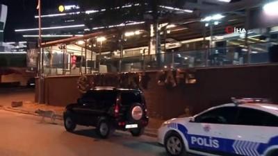 Maltepe'de bir kafeye ihbara gelen polislere ateş açıldı: 10 gözaltı