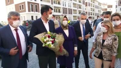 akon - Bakan Kurum, İncirliova TOKİ konutlarında incelemelerde bulundu - AYDIN