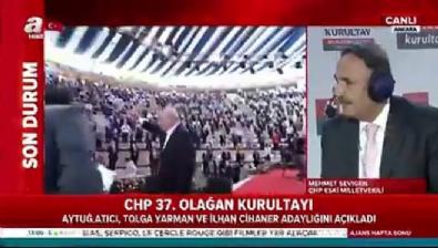 CHP Eski Milletvekili Mehmet Sevigen: CHP kurultayı bir çadır tiyatrosu gibi, coşku yok