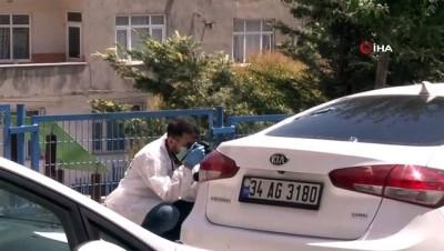 arac plakasi -  Dur ihtarına uymadılar, polis aracına çarparak kaçtılar