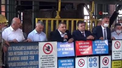 GMİS yönetimi, Karadon Kilimli İşletmesi'nde madencileri ziyaret etti