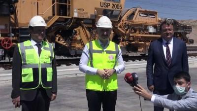 Karaismailoğlu: 'Vatandaşlarımızın yüzde 70'ini 2023 yılında hızlı tren konforuyla buluşturmak için çalışıyoruz' - YOZGAT