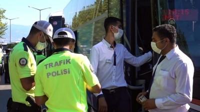 bolat - Yolcu otobüslerine yönelik denetim - BURSA