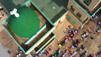 bayram namazi - Fildişi Sahili'ndeki Müslümanlar bayram namazını eda etti - KORHOGO