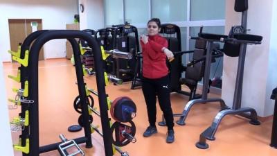 milli halterci - Milli halterci Ayşegül Çakın'ın gözü olimpiyatta - BARTIN