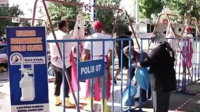 Muratpaşa Belediyesi'nin kurban tedbirlerine tam not