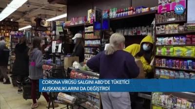 online alisveris - Corona Salgını ABD'de Tüketici Alışkanlıklarını da Değiştirdi