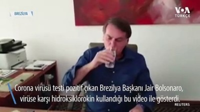 Bolsonaro Tartışmalı İlaç Hidroksiklorokini Kullanıyor