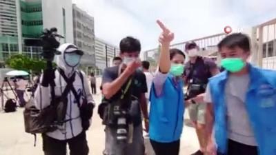 - Hong Kong'ta medya patronuna gözaltı