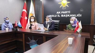 AK Parti İstanbul Kadın Kolları Abdurrahman Dilipak hakkında suç duyurusunda bulundu - BOLU