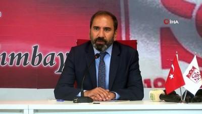 kulup baskani - Sivasspor Rıza Çalımbay'la yeniden anlaştı!