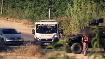 ozel kuvvet - Bombalı eylem hazırlığındaki PKK'lı terörist 37 kilogram TNT ile Adana'da yakalandı - ADANA