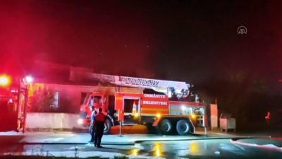 Trafo merkezinde çıkan yangın söndürüldü - OSMANİYE