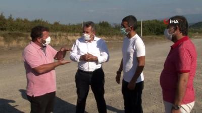 Kenan Sofuoğlu, Cumayeri Pisti'nde incelemelerde bulundu