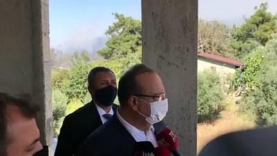 bolat - Vali Canbolat: 'Yangın ile ilgili 1 kişi gözaltında' - BURSA