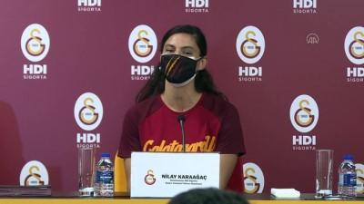 voleybol takimi - Galatasaray, kadın voleybol takımında imza töreni düzenledi - İSTANBUL