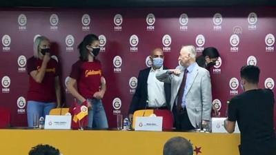 voleybol takimi - Galatasaray Kulübü Başkanı Cengiz: ''Kadın voleybolunun her zaman destekçisi olacağız'' - İSTANBUL