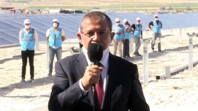 Karapınar Güneş Santrali Trafo Merkezi açıldı - KONYA