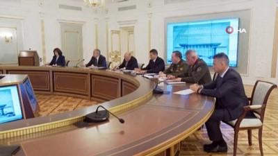 - Lukaşenko Güvenlik Konseyi toplantısında 'huzur ve istikrar' talimatı verdi