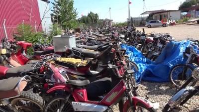 trafik cezasi -  Milli servet araç ve motosikletler yediemin deposunda çürüyor