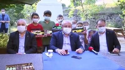 bayram hediyesi - TBMM Başkanı Şentop'dan çocuklara bayram hediyesi - TEKİRDAĞ