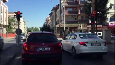 arac plakasi -  Gaziantep kırmızıda durmuyor