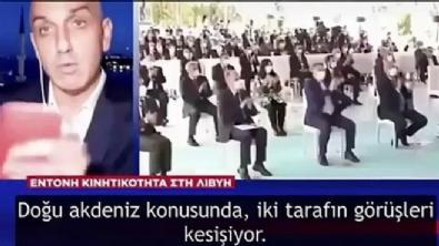 Yunan muhabir canlı yayında bir anda Türkçe konuşmaya başladı