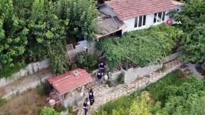 hint keneviri -  Bursa'da belgesel tadında droneli narkotik operasyonu