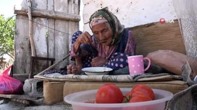 104 yaşındaki Fatma Nine torunlarının torunlarını bile hatırlıyor