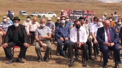Erzincan'da koç katım şenliği düzenledi