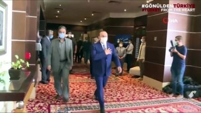 """bag kur -  - Dışişleri Bakanı Çavuşoğlu'ndan """"gönül selamı"""" paylaşımı"""